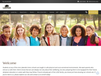 Lakeside Union School District / Lakeside Union Homepage