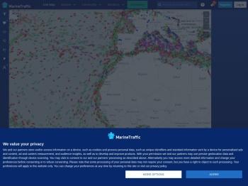 MarineTraffic: Global Ship Tracking Intelligence | AIS Marine ...