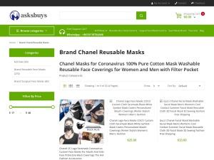 chanel masks for coronavirus soft cotton face masks reusable washable mask