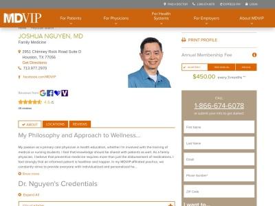 screenshot of Augusta Family Medicine's homepage