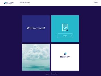 Patientenportal der Health AG