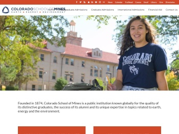 Home - Admissions at Colorado School of Mines