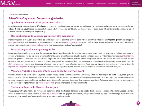 Monsitevoyance.com