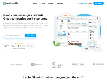 Motivosity - Employee Recognition Software That Gets Used!