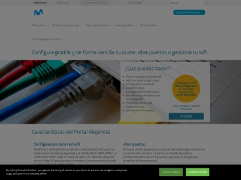 Configuración de router Movistar - Portal Alejandra - Movistar