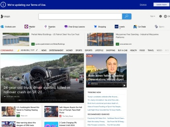 MSN | Outlook, Office, Skype, Bing, Breaking News, and Latest Videos