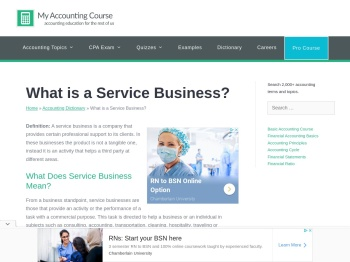 What is a Service Business? - Definition | Meaning | Example
