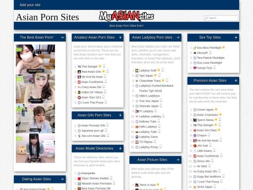 Asian Porn Sites screenshot