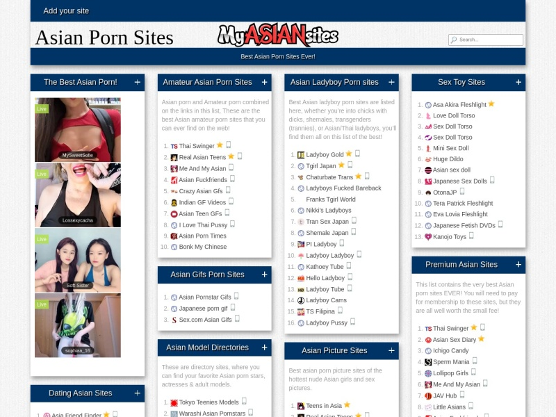 My Asian Sites