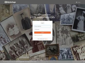 Log in - MyHeritage