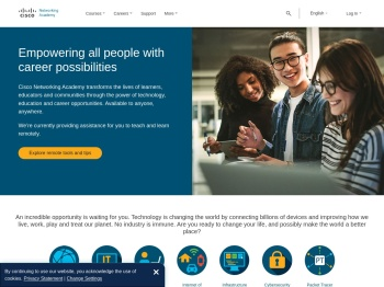 Cisco Networking Academy Builds IT Skills & Education For Future Careers