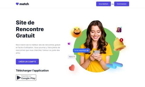 Nice-Match.com : Site de Rencontre Gratuit - Nice Match