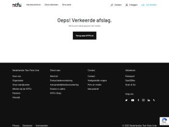 Inloggen - NTFU Wielersportbond