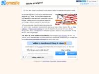 Omegle.com : Omegle: Talk to strangers!