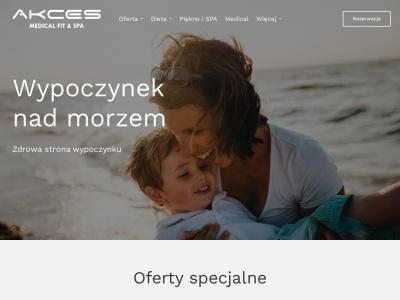 Akces - wczasy SPA nad morzem noclegi Dźwirzyno odchudzanie.