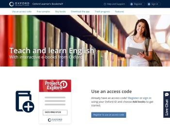 Oxford Learner's Bookshelf | e-books for learning English