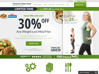Personal Trainer Food: Meal Plan for Weight Loss, Delivered