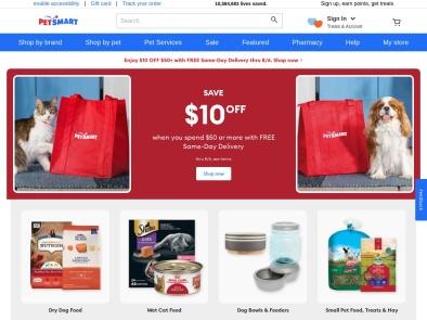 PetSmart skjermbilde