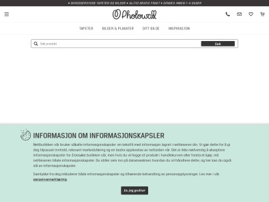 Photowall skjermbilde