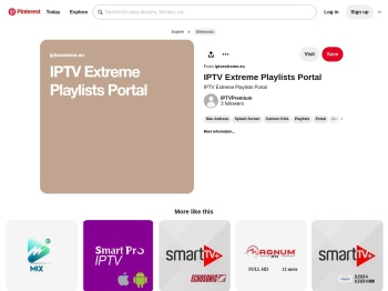 IPTV Extreme Playlists Portal   Merken - Pinterest