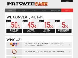 Private Cash screenshot