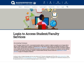 Login to access student/faculty services - Queensborough ...