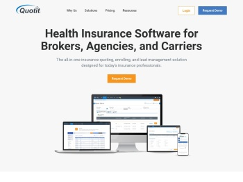 Quotit: Health Insurance Quote Software