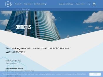 Contact Us - RCBC