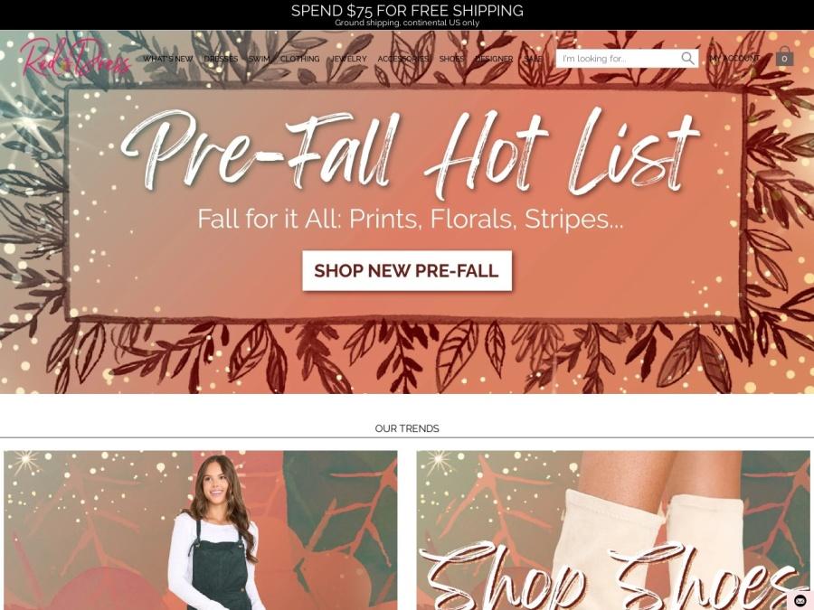 Red Dress Boutique screenshot