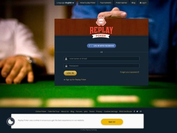 Log In · Replay Poker