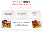 thumbnail image of Rodeo Goat