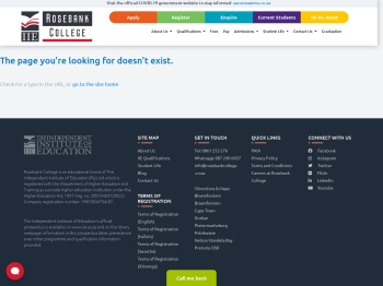 Current Students - Rosebank College
