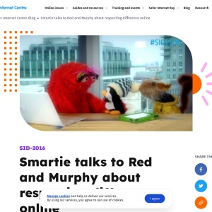 Screenshot of Smartie talks to Red and Murphy
