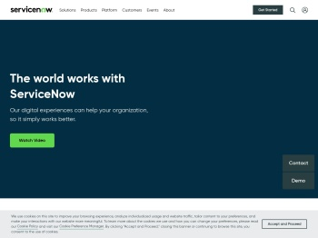 ServiceNow – The smarter way to workflow™
