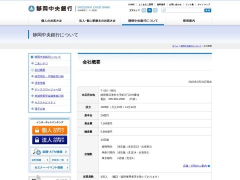 静岡中央銀行 本部静岡県 銀行