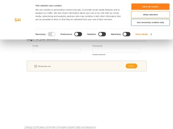 Login to your account | Smith+Nephew - Corporate