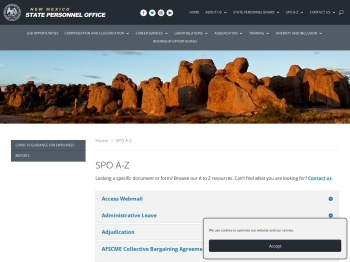 Resources | NM SPO - State Personnel Office