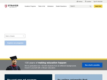 Strayer University - Accredited Online & On-Campus Degrees