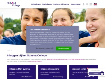 Inloggen - Summa College