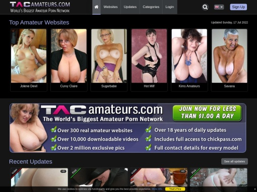 TACAmateurs screenshot