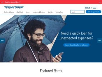 Texas Trust Credit Union: Home
