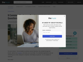 9 Common Customer Service Interview Questions | The Muse