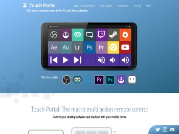Touch Portal - Macro deck remote control for PC and Mac OS ...