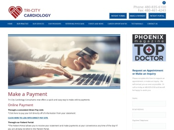 Make a Payment - Tri City Cardiology