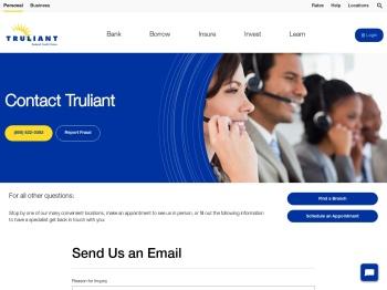 Contact Us | Truliant FCU - Truliant Federal Credit Union