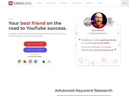 TubeBuddy screenshot