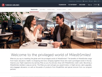 Miles&Smiles | Turkish Airlines ®