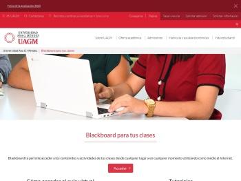 Blackboard | Universidad Ana G. Méndez