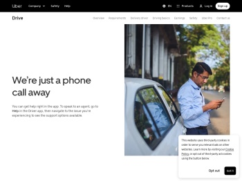 Call Uber Support | Driver Customer Service | Uber