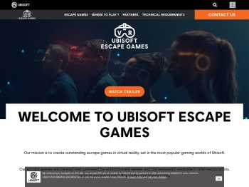 UBISOFT ESCAPE GAMES: Start